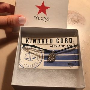NWOT Kindred Cord Alex and Ani justice scales